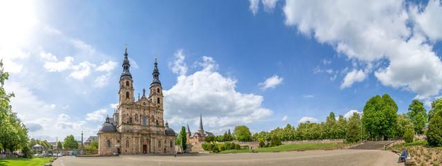 Panorama, Dom zu Fulda  Fototapete