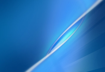 Abstract simple blue background with curves