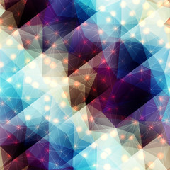 Abstract diagonal geometric pattern