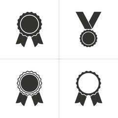 Set of simple award icon