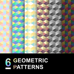 Geometric vector pattern pack