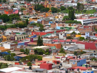 Rooftop of Mexico city