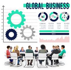 Global Business International Growth Enterpise Concept