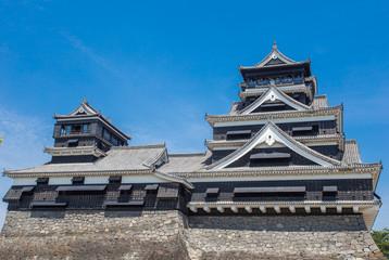 Kumamoto Castle is a hilltop Japanese castle, Kumamoto in Kumamo