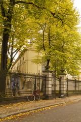 Autumn Street Scene in Berlin
