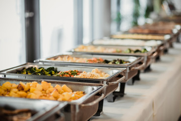 Photo sur Aluminium Buffet, Bar catering essen party