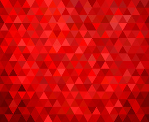 seamless red geometric background