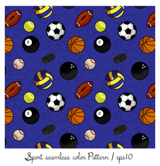 sport seamless colorful pattern