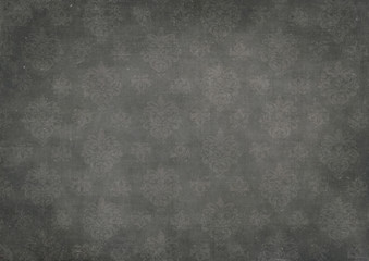black damask board
