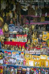 Bangkok Thailand Souvenir Stand