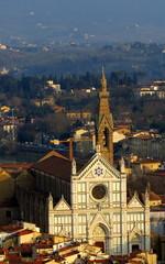 Basilica di Santa Croce in Florence, Tuscany, Italy