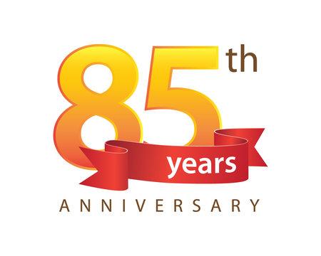 85 Anniversary Logo