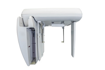 X-ray machine isolated on white background