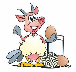 Eierlegende Wollmilchsau Produkte