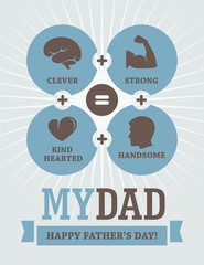 Father's Day creative design