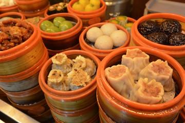 Chinese Dim sum dumplings food in Shanghai China