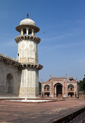 Itmad-Ud-Daulah's Tomb (Baby Taj) at Agra, , India..