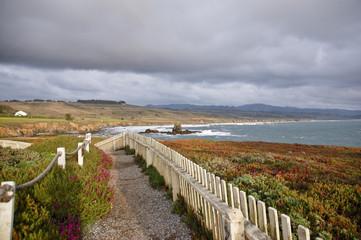 Pigeon Point Lighthouse, California Coast