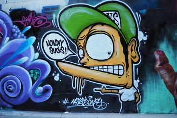 Grafitti - Monday Sucks