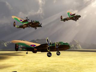British heavy bombers of World War II