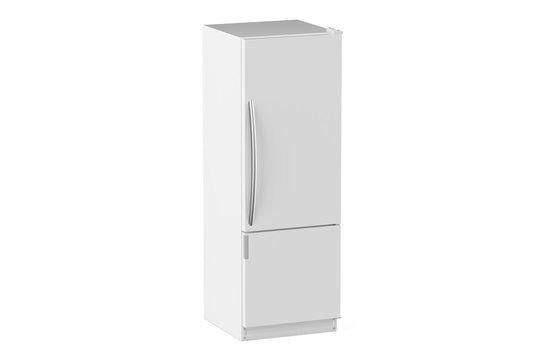 white modern fridge