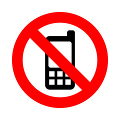 No Phone icon great for any use. Vector EPS10.