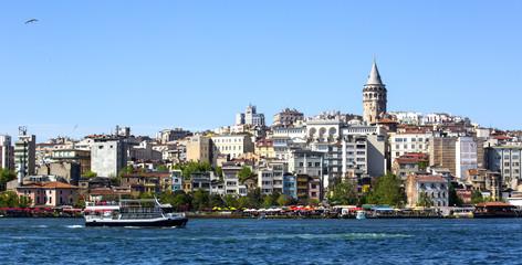 ISTANBUL, TURKEY - MAY 14, 2015:Panorama