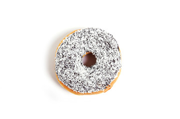 sweet delicious temptation donut with toppings sugar addiction