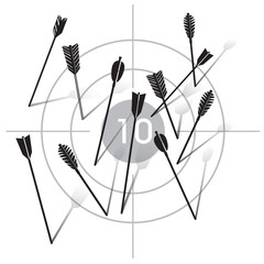 Collection of Black Vector Arrows