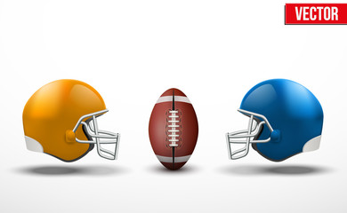 Background of competition in American football teams