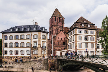 Picturesque Strasbourg, France in Europe