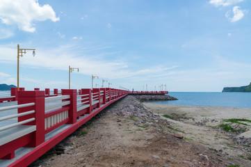 Port area Ao Prachuap