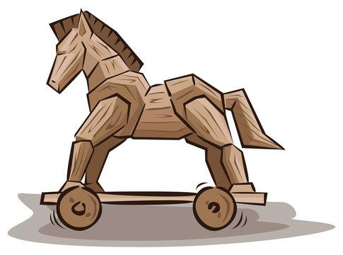 Trojan horse toys