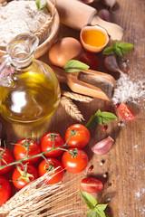 cooking, fresh ingredient