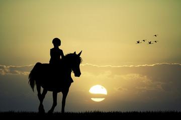 rider on horseback