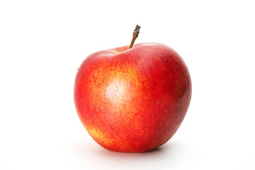 Beautiful fresh red apple isolated