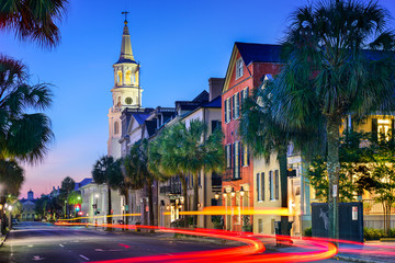 Fototapeta premium Charleston Townscape