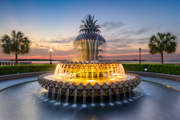 Charleston, South Carolina, USA at the Waterfront Park.