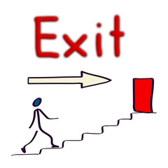 Exit - Illustration
