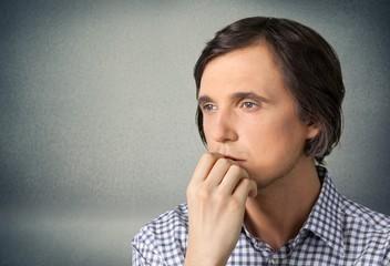 Men, Thinking, Contemplation.