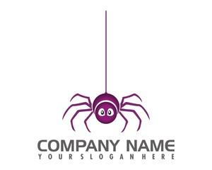 spider logo image vector