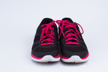 Sports shoes for running.