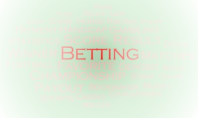 Tag cloud Betting