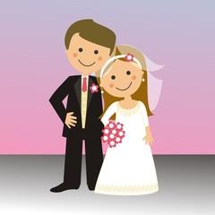 Pareja de recién casados CF1