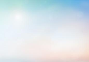 Blurred nature