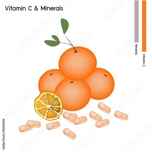 orange fruits fruits with vitamin c