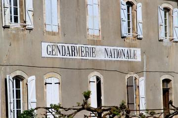 Ancienne gendarmerie.