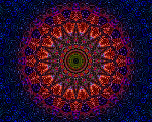 Mandala good vibes and energy