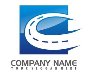 blue highway logo image vector