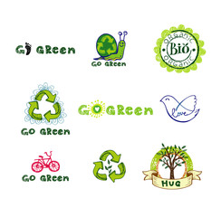 Eco design elements.